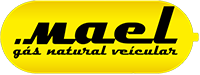 Logo Mael Gás Natural Veicular GNV